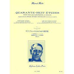 48 Etudes D'apres Ferling (Nvlle Ed.augment.de 12 Etudes Nouvelles) Saxophone By Marcel Mule.