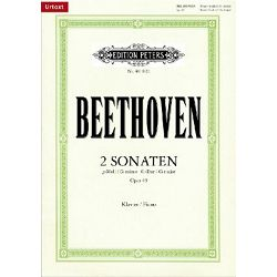 Beethoven:Sonatas in G minor and G major, Op.49, Nos. 1 & 2
