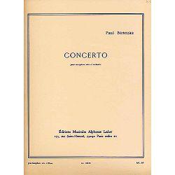 Bonneau: Concerto-Saxophone Mib Et Piano