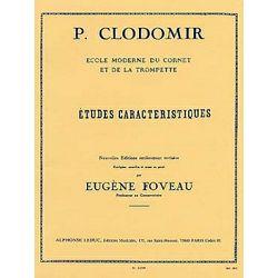Clodomir: Etudes Caracteristiques - Cornet