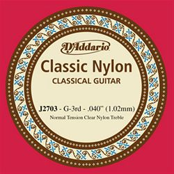 D'Addario Clear Nylon G3