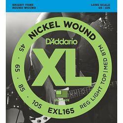D'Addario EXL 165 žice za bas gitaru 45-105