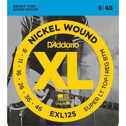 D'Addario EXL125 žice za električnu gitaru 09-46