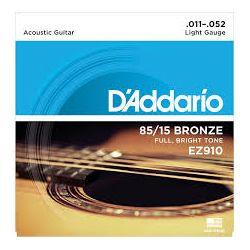 D'Addario EZ910 žice za akustičnu gitaru 11-52