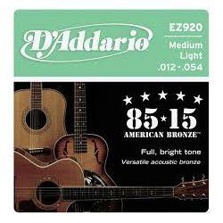 D'Addario EZ920 žice za akustičnu gitaru 12-54