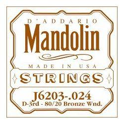 D'Addario Žica za mandolinu D3