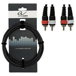 Gewa Cinch twin cable Basic Line Alpha Audio 1,5 m