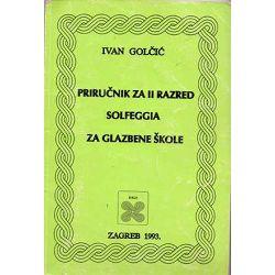 Golčić: Priručnik za solfeggio 2