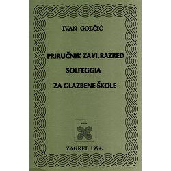 Golčić: Priručnik za solfeggio 6