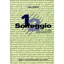 Golčić: Solfeggio za 1. i 2. razred srednje glazbene škole