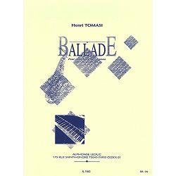 Henri Tomasi: Ballade-Saxophone Mib et Piano