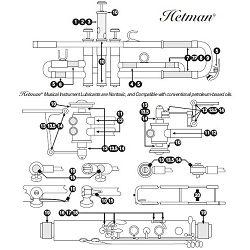 Hetman Light Bearing And Linkage Oil