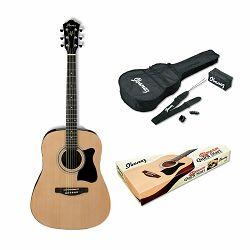 Ibanez akustična gitara V50NJP-NT - paket