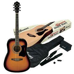 Ibanez akustična gitara V50NJP-VS - set