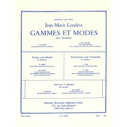 Jean-Marie Londeix: Scales and Modes for Saxophone (Volume 2)