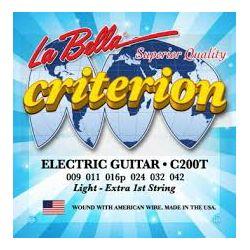 La Bella C200T žice za električnu gitaru 09-42