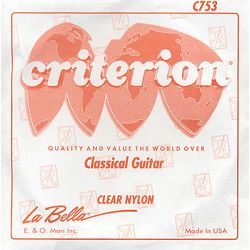 La Bella Criterion Clear Nylon E1