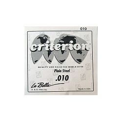 La Bella Criterion Plain Steel 010