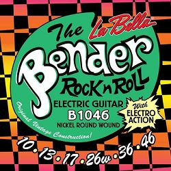 La Bella Bender žice za el. gitaru 10-46