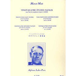 Marcel Mule: 24 Etudes Faciles (Saxophone Solo)