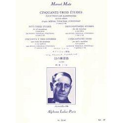 Marcel Mule: 53 Studies For All Saxophones (Volume 1)