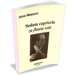 Nino Mazzoni: Sedam capriccia za flautu solo