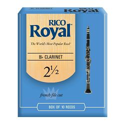 Rico Royal trske za Bb klarinet br. 2,5