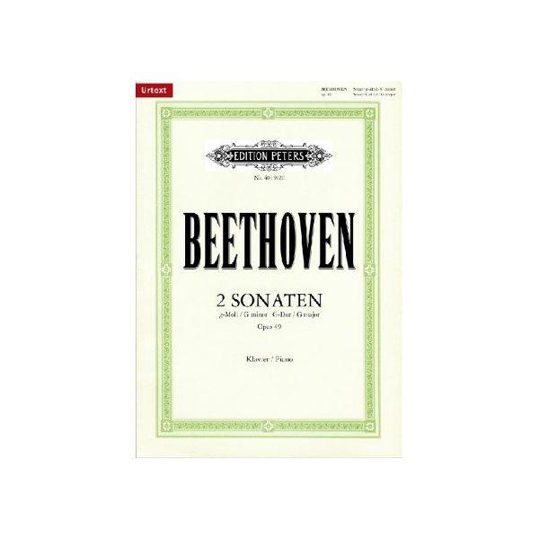 Beethoven:Sonatas in G minor and G major, Op.49, Nos. 1 & 2