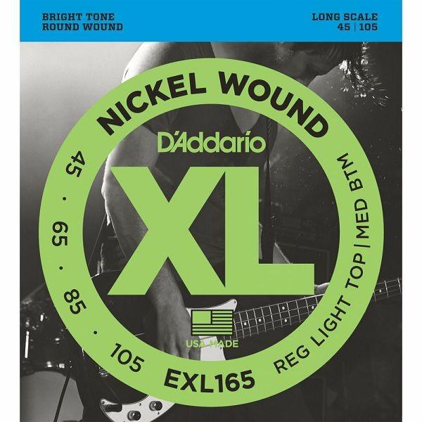 D'Addario EXL165 žice za bas gitaru 45-105