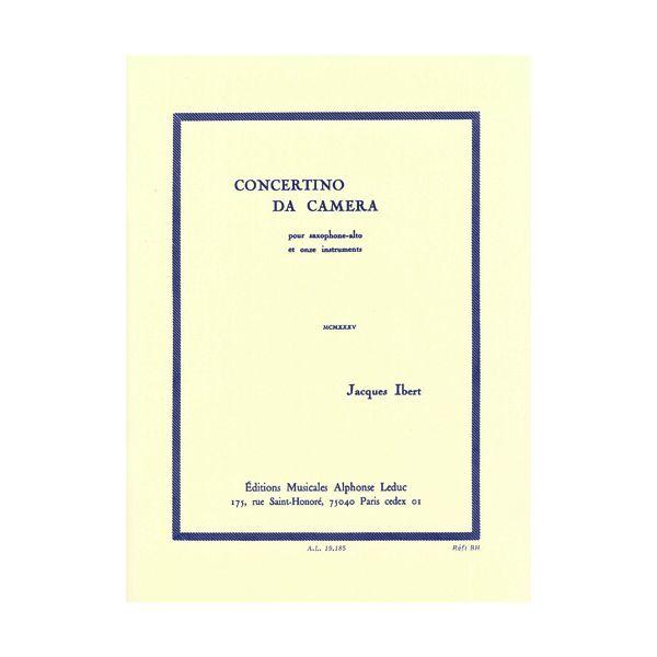 Jacques Ibert: Concertino da Camera-for Alto Saxophone and Saxophone Ensemble
