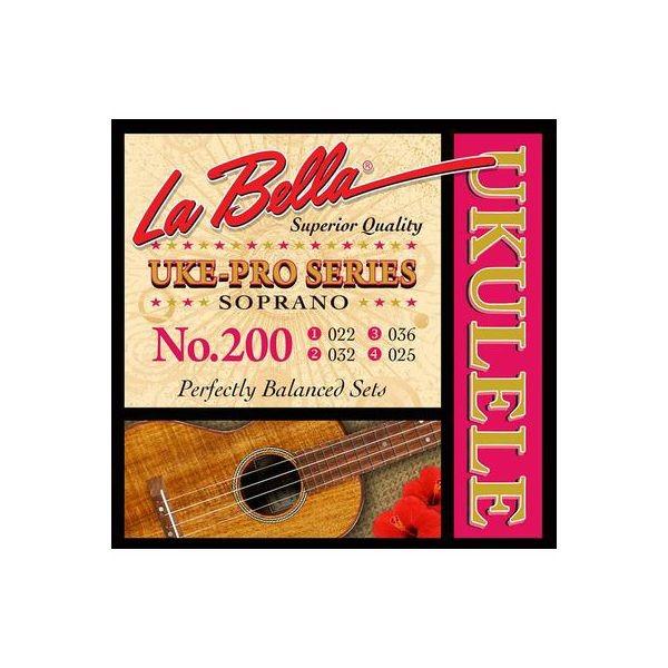 La Bella žice za sopran ukulele 200