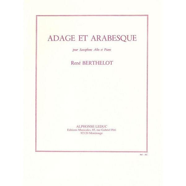 René Berthelot: Adage Et Arabesque (Alto Saxophone/Piano)