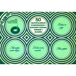 50 najpopularnijih starogradskih i narodnih pjesama i romansi Album VIII