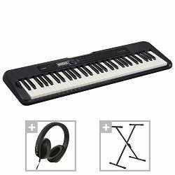 Casio klavijatura CT-S300 sa stalkom i slušalicama