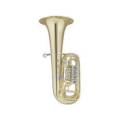 Červeny F tuba CFB 641-4-0