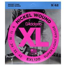D'Addario EXL120 žice za električnu gitaru 09-42