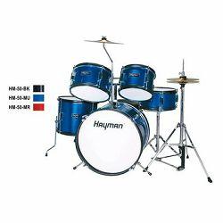 Hayman Junior bubnjevi HM-50- Metallic Blue