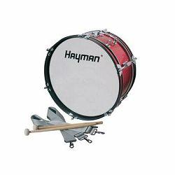 Hayman marching bas bubanj 16