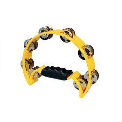 Hayman half moon tamburin - yellow