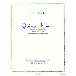 J. S. Bach: Quinze Etudes - Clarinet