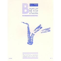 Marcel Perrin: Berceuse for E-flat Alto Saxophone and Piano