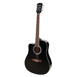 Richwood elektro akustična gitara RD-12L-CE-BK- za ljevake