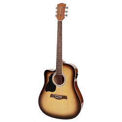 Richwood elektro akustična gitara za ljevake RD-12L-CESB