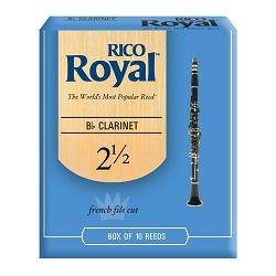 Rico Royal trske za Bb klarinet br. 2,5