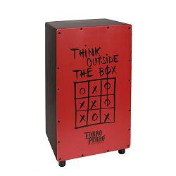 Torro Perro Art Series EU handmade cajon THINK black-red-black