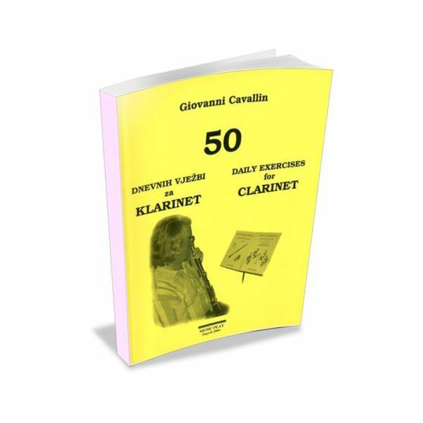 Giovanni Cavallin: 50 dnevnih vježbi za klarinet